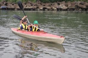 写真3とにかく楽しいカヌー体験